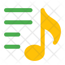 Music playlist Icon