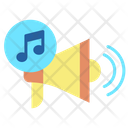 Music Promotion Icon