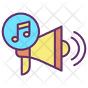 Music Promotion Icon