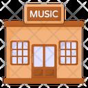 Music Shop Music Store Music Retail Icon