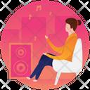 Listening Music Music Room Studio Icon