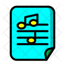 Music Score Icon