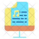 Icomputer Music Note Music Script Song Script Icon