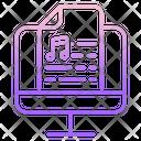 Music Script Icon
