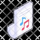 Music Album Music Script Song Script Icon