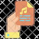 Ifile Music Script Paper Music File Icon