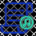 Ifile Music Music Script Paper Music File Icon