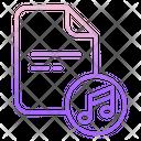 Music Script Paper Icon