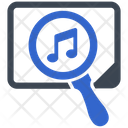 Music Search Find Icon