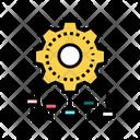 Setting Gear Color Icon