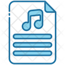 Music Sheet Notes Musical Notes Icon