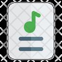 Music Sheet Icon