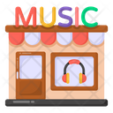 Music Shop Architecture Music Store Icon