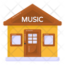 Music Shop Building Architecture Music Store Icon
