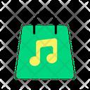Music Shopping Icon