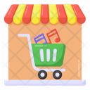 Music Shop Music Store Music Shopping Store Icon