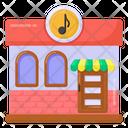 Music Studio Music Room Music Store Icon
