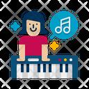Music Teacher Female Music Teacher Music Director Icon