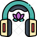 Music Therapy Earbuds Headphone Icon