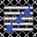 Music transcript Icon