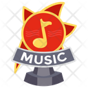 Music Trophy Icon