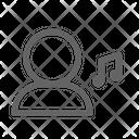 Music user Icon