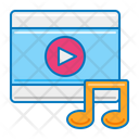 Music Video Music Player Mobile Icon