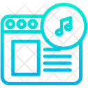 Music Web Icon
