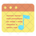 Music Website Icon