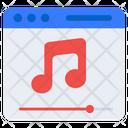 Music Website Audio Website Sound Website Icon