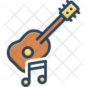 Musical Guitar Acoustic Icon
