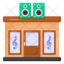 Music Shop Musical Instruments Store Music Studio Icon
