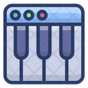 Musical Keyboard Musical Instrument Piano Icon