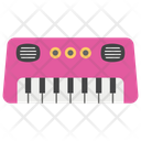 Music Keyboard Piano Primary Learning Icon