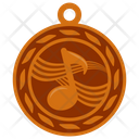 Musical Medal Icon