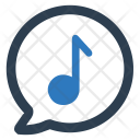 Upload Song Speech Icon