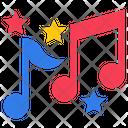 Musical Notes Musical Fantasy Rhythm Icon