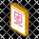 Notes Book String Icon