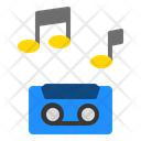 Musical Recording Audio Sound Tape Icon