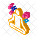 Musical Man Relaxation Icon