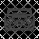Musicbox Radio Communication Icon
