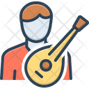 Folk Musician Composer Icon