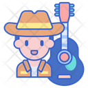 Musician Singer Hat Icon