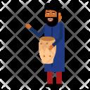 Drummer Musician Festival Icon