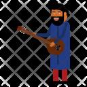 Musician Celebrate Hindu Icon