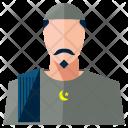 Muslim Man Avatar Icon