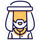 Muslim Avatar Man Icon