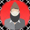 Muslim Muslim Avatar Beard Icon