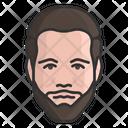 Beard Man Male Person Icon
