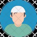 Muslim Boy Arabian Avatar Icon
